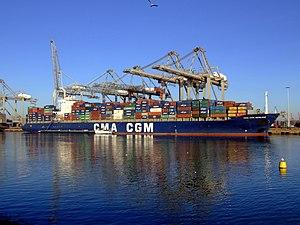 CMA CGM Berlioz IMO 9222297 17feb2008 Rotterdam 17-Feb-2008.jpg