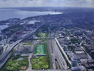 Railway Lands - Image: CN Tower View 03