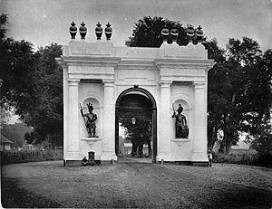 Amsterdam Gate, Jakarta - The gate around 1885