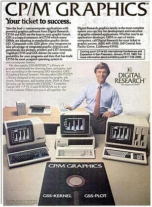 CP/M - CP/M advertisement in the November 29, 1982 issue of InfoWorld magazine