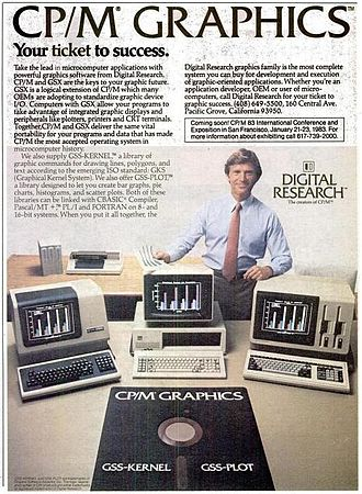 CP/M - CP/M advertisement in the November 29, 1982, issue of InfoWorld magazine