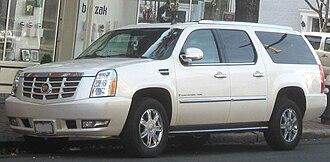 Cadillac Escalade - GMT900 Cadillac Escalade ESV
