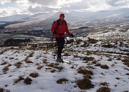 none  Skigåing på Cairnsmore oppfor Green Well of Scotland