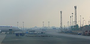 Cairo International Airport - Apron view