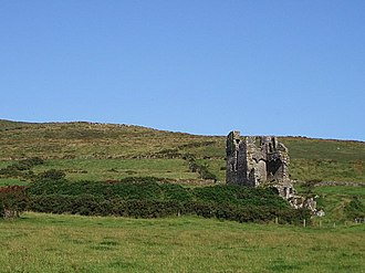 Rahinnane Castle - Another view of the castle