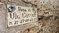 Calcata Vecchia street name.jpg