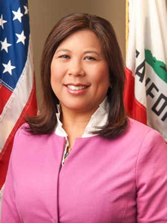 Betty Yee - Yee's first official photo as State Controller