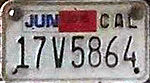 California motorcycle license plate 2016.jpg