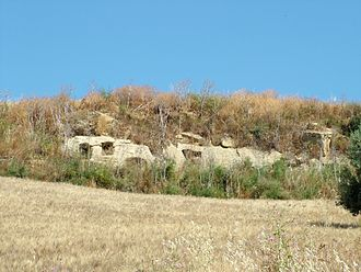Sabucina - The grotticella tombs of Sabucina