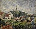 Camille Pissarro (1830-1903) Het dorp Knokke (1894) Petit Palais Parijs 23-8-2017 16-54-23.JPG