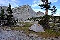 Campsite in Lake Basin (28539909647).jpg