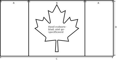Kleurplaat Vlaf Vlag Van Canada Wikipedia Kleurplatenl Com