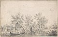Canal Landscape with a Fisherman MET DP800670.jpg