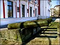 "Canons next to ""Academia Petrina"" Jelgava History and Art Museum named after G. Eliass - panoramio.jpg"