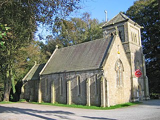 Capernwray Chapel Church in Lancashire, England