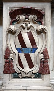 Cappella corsini al carmine, stemma corsini 01.JPG