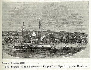 Capture of the schooner eclipse at opotiki by the hauhaus.jpg