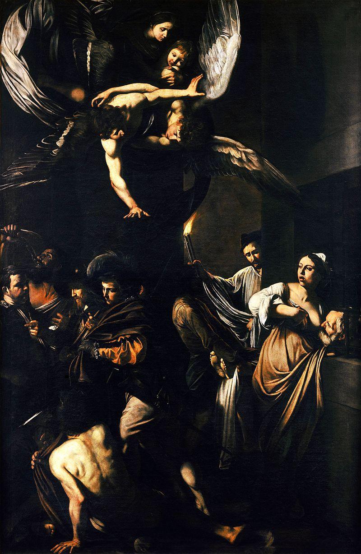 Caravaggio - Sette opere di Misericordia (1607, Naples).jpg