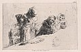 Cardplayers- three men, two seated one standing before a spread of cards on a table MET DP876116.jpg