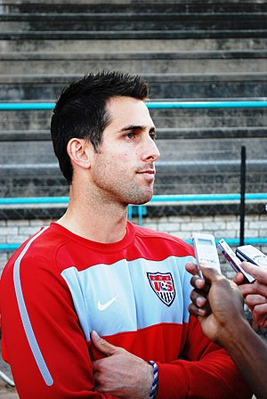 Carlos Bocanegra - Bocanegra with the U.S. National Team in 2010