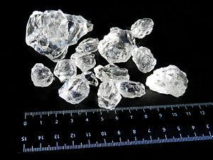 Carnallite - Сarnallite crystals