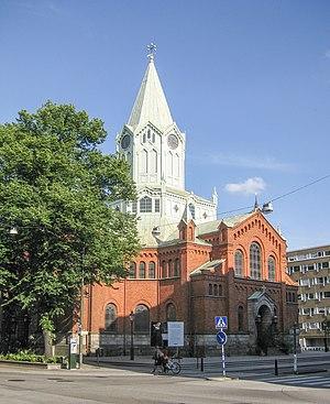 Caroli Church, Malmö - Image: Caroli kyrka, Malmö, 2012