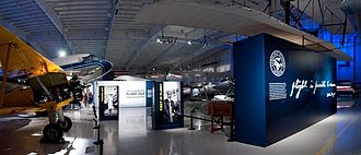 Carolinas Aviation Museum - Main Display Hangar August 2012