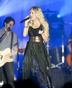 "Man! I Feel Like a Woman! - American singer-songwriter Carrie Underwood covered the song on ""American Idol""."