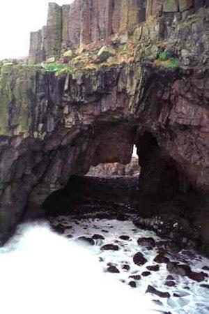 Carsaig Bay - Carsaig Arches