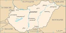 Description de l'image Carte de Hongrie.png.