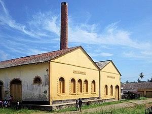 Água Izé - Roça Água Izé, a former cocoa warehouse which is today a museum