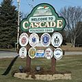 Cascade Wisconsin Sign Looking East.jpg