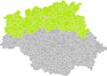 Cassaigne (Gers) dans son Arrondissement.png