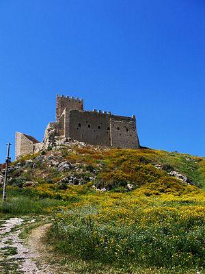 Palma di Montechiaro - The Castle Chiaromonte.