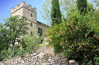 Merlon - Image: Castello montechino torrione