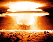 Le champignon atomique de Castle Bravo.