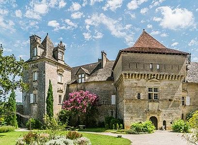 Castle of Cénevières, Lot, France