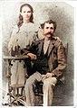 Catalina Celebertti Ruserla y su padre Bernardo Giliberti.jpg