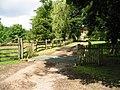 Cattle grid on road to Tilden Farm - geograph.org.uk - 879868.jpg
