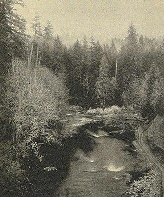 Cedar River (Washington) - Cedar River in 1900