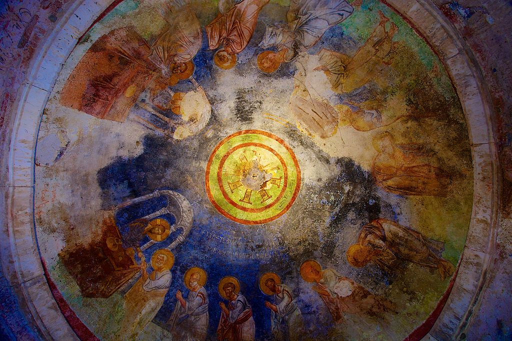Ceiling fresco, St. Nicholas Church, Demre