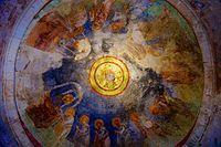 Tavan fresk, Aziz Nikolaos Kilisesi, Demre.jpg