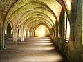 Cellarium, Fountains Abbey - geograph.org.uk - 1221772.jpg