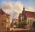 Celle Bomann-Museum Stadtkirche Dankworth (1840).JPG