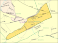 Census Bureau map of Bloomsbury, New Jersey.png