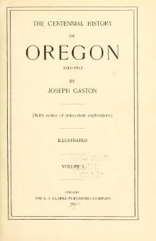 Centennial History of Oregon 1811-1912, Volume 1.djvu