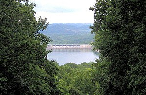 Center Hill Lake Tennessee Map.Edgar Evins State Park Wikipedia