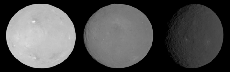 Ceres opposition effect