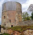 Cesis Ordensburg Cesis Turm 2.JPG