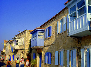 Alaçatı - A street in Alaçatı